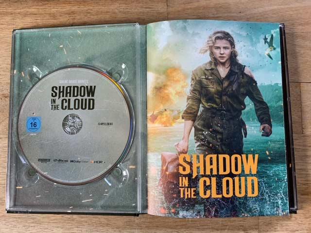 Shadow in the Cloud Film 2021 4K UHD Mediabook shop kaufen