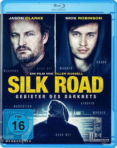 Silk Road - Gebieter des Darknets [Blu-ray] Cover shop kaufen