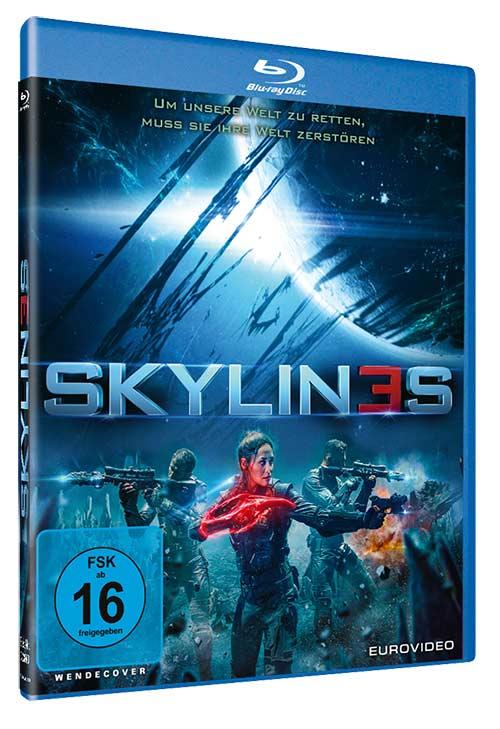 SKYLIN3S Film 2021 Blu-ray Cover shop kaufen