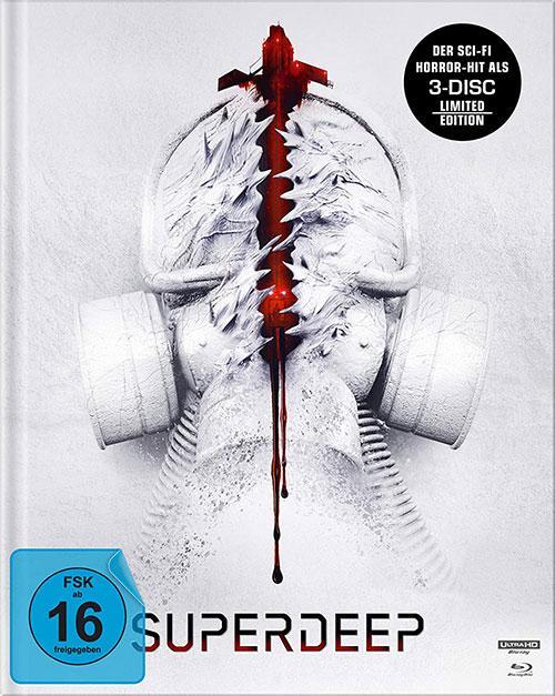 Superdeep - Mediabook (4K Ultra HD) (+ Blu-ray 2D) shop kaufen Cover