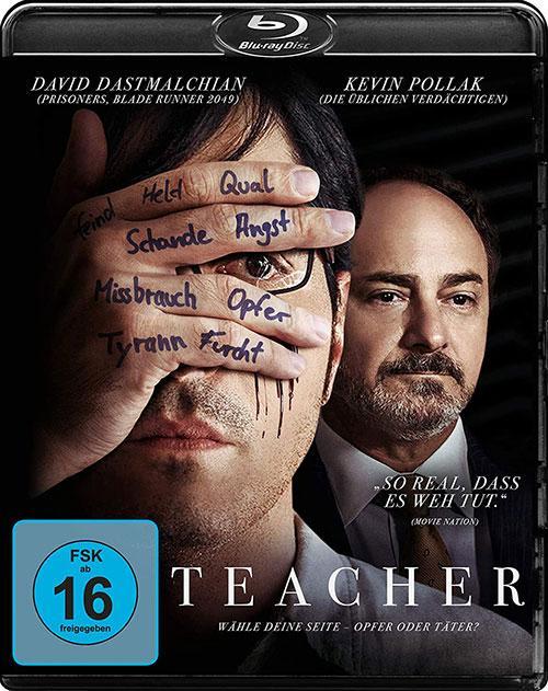 TEACHER - Wähle deine Seite - Opfer oder Täter? Blu-ray DVD shop kaufen Cover