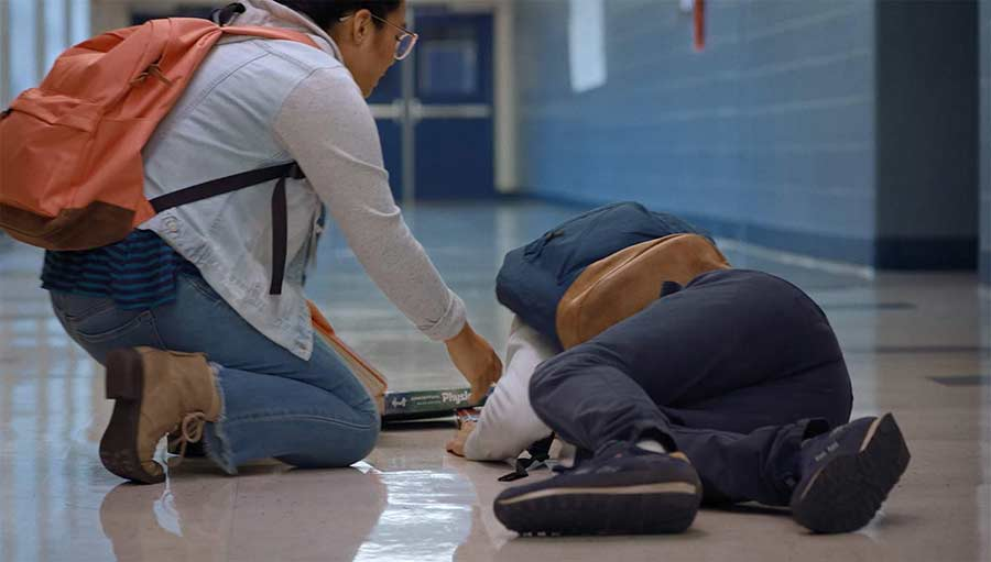 Teacher Film 2021 Blu-ray Review shop kaufen Szenenbild