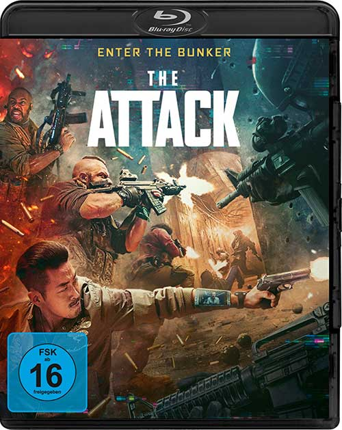 The Attack [Blu-ray] Film 2021 shop kaufen Cover