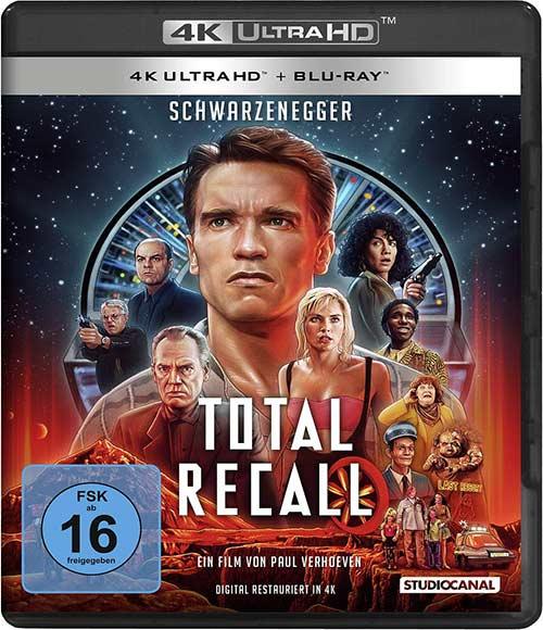 Total Recall / Uncut (4K Ultra HD) (+ Blu-ray 2D) Amaray Case shop kaufen