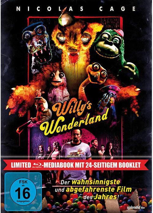 Willy's Wonderland LTD. - Mediabook [Blu-ray] Shop kaufen Cover