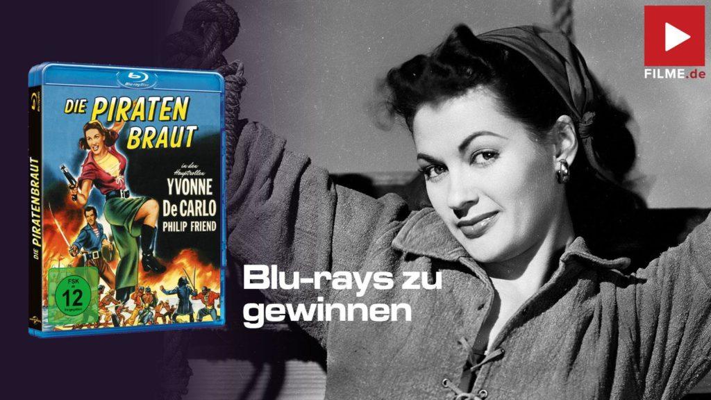 Die Piratenbraut Film 1950 Blu-ray Gewinnspiel gewinnen shop kaufen Artikelbild