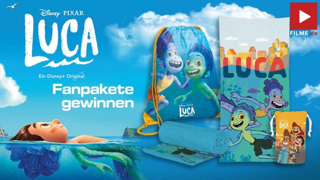 LUCA Film 2021 Walt Disney Disney+ Plus Streaming Gewinnspiel gewinnen kostenlos ansehen Artikelbild