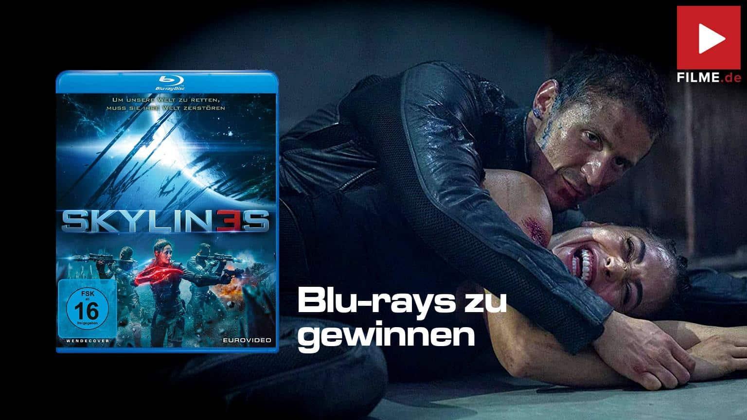 SKYLIN3S Film 2021 Blu-ray DVD Gewinnspiel gewinnen shop kaufen Artikelbild