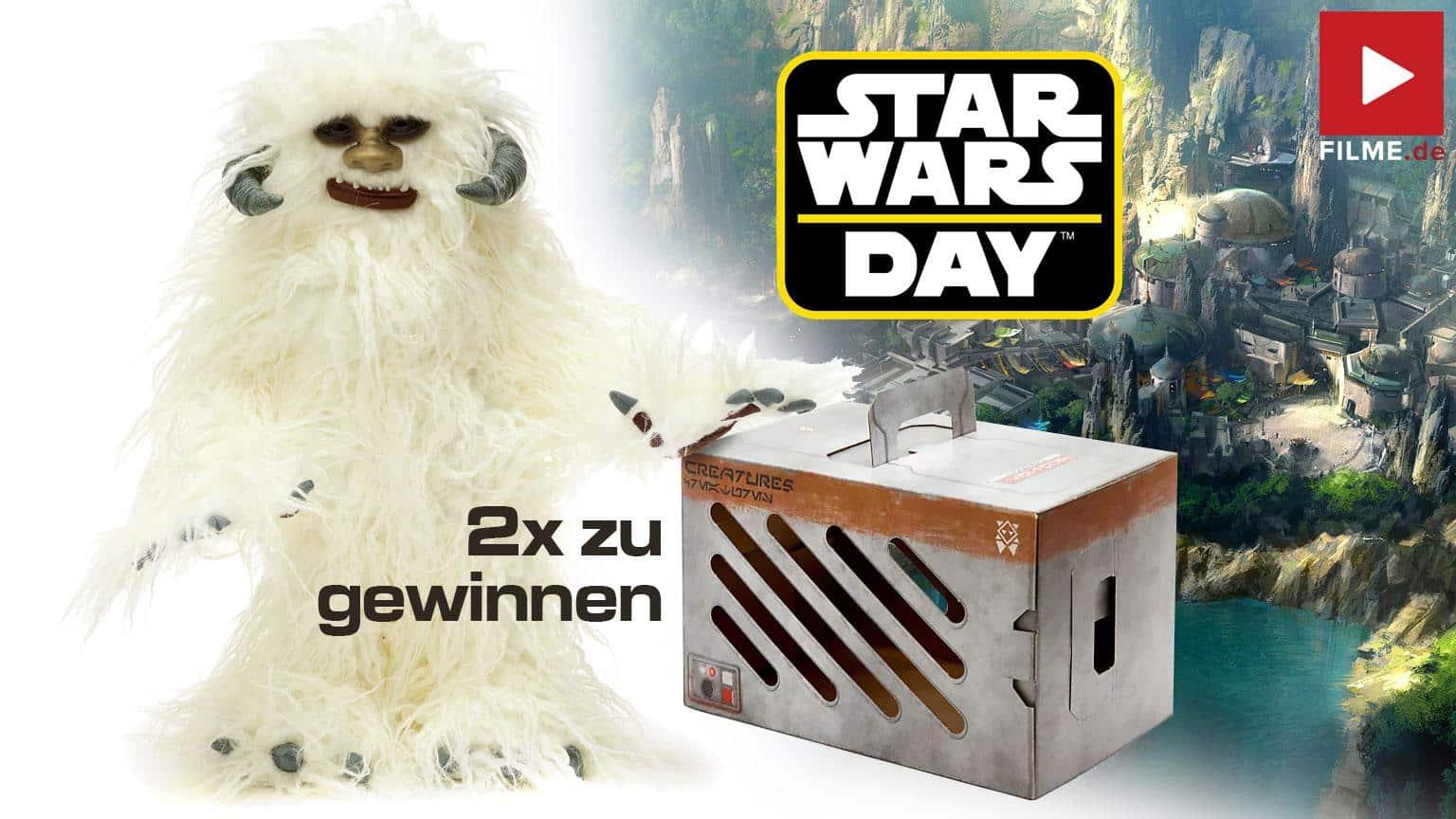 Star Wars: Galaxy Edge by Disney Store Wampa Plüsch Gewinnspiel gewinnen shop kaufen Walt Disney star Wars Day 2021 Artikelbild