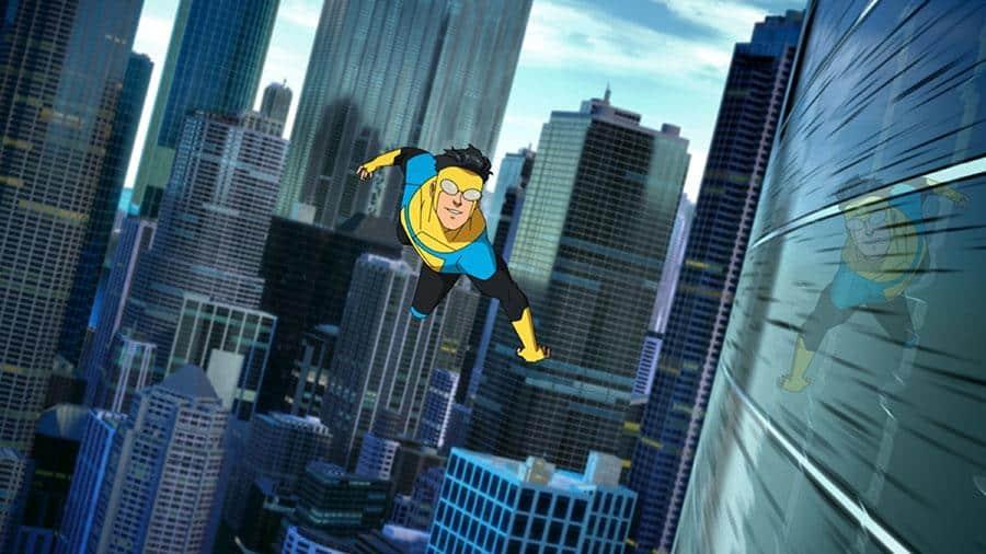 Invincible: Staffel 1 – Streaming Review Serie 2021 Amazon Original Szenenbild