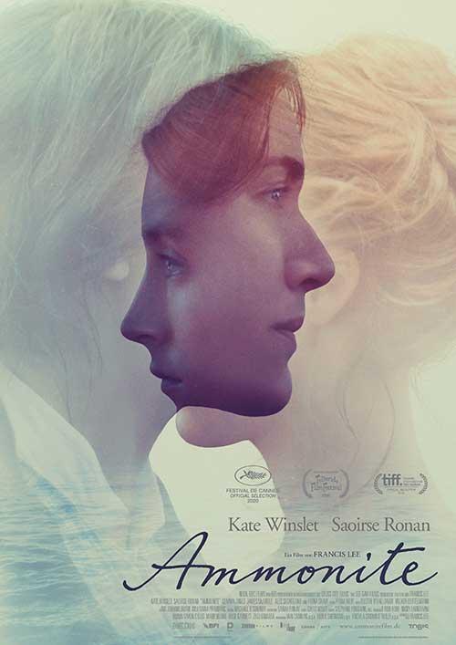Ammonite Film 2021 neuer Kinostart November 2021 Kino Plakat