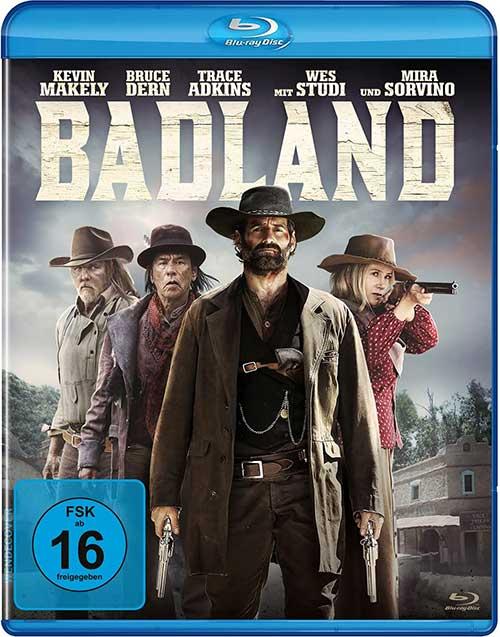 Badland [Blu-ray] Film 2021 DVD shop kaufen Cover