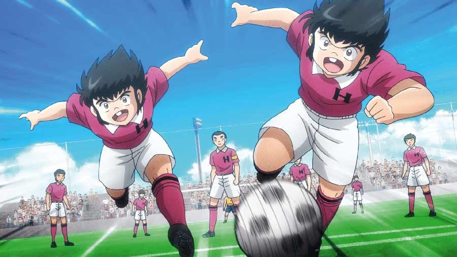 Captain Tsubasa 2018 - Box 2 - Elementary School - Vol.2 Blu-ray Review shop kaufen Szenenbild
