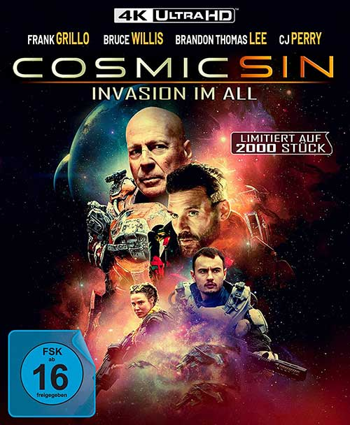 Cosmic Sin - Invasion im All - Limited Edition (4K Ultra HD) [Blu-ray] Cover shop kaufen