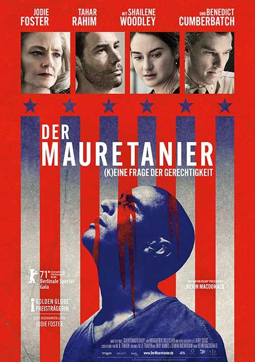 DER MAURETANIER – (K)EINE FRAGE DER GERECHTIGKEIT Film 2021 Trailer deutsch Kino Plakat