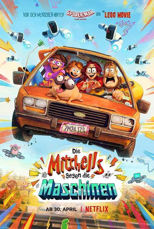 Die Mitchells gegen die Maschinen - Streaming Review Film 2021 Plakat