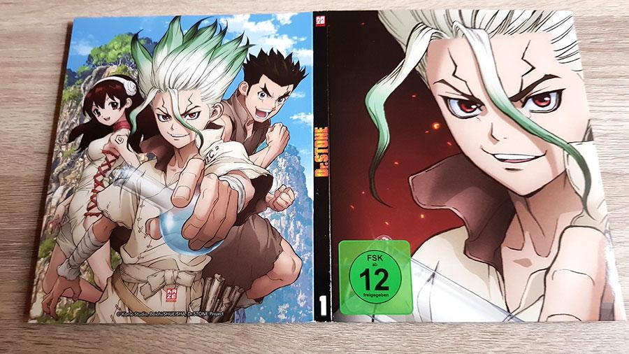 Dr Stone Staffel 1 Vol 1 Blu-ray Review shop kaufen
