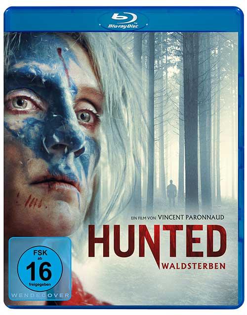 Hunted - Waldsterben Film 2021 Blu-ray Cover shop kaufen