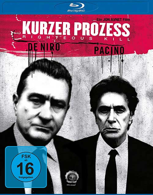 Kurzer Prozess - Righteous Kill [Blu-ray] Film 2021 Blu-ray Cover shop kaufen