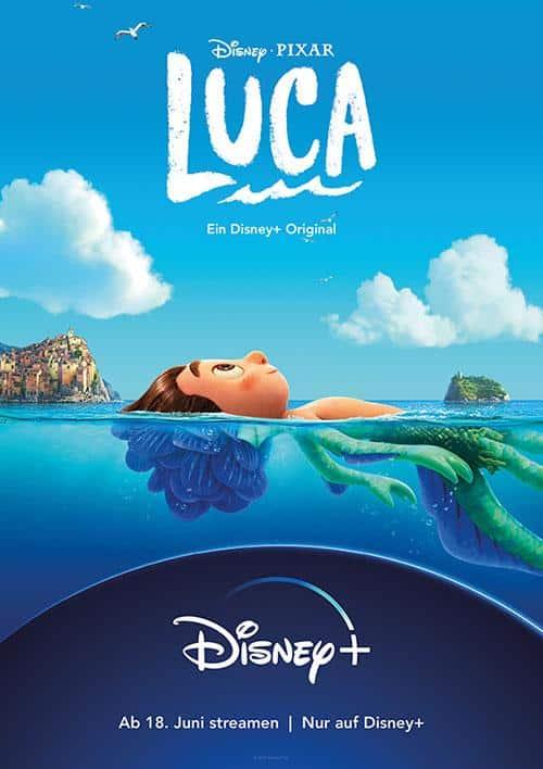 Luca Film 2021 Disney Plus Plakat