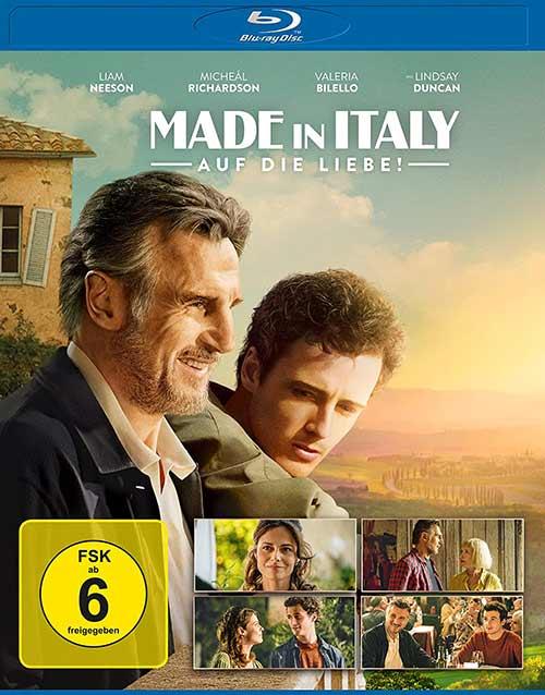 Made in Italy - Auf die Liebe Film 2021 Blu-ray shop kaufen Cover
