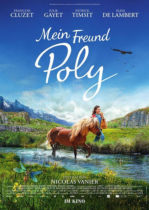 Mein Freund Poly Film 2021 Kinostart Kino Plakat