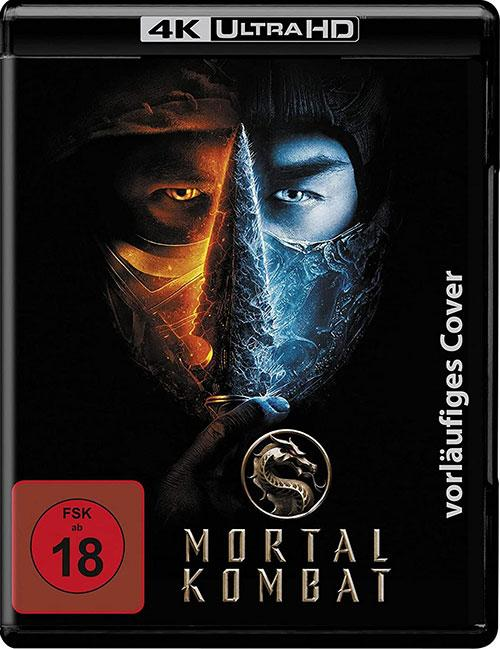 Mortal Combat 2021 Film 4K UHD Blu-ray Cover shop kaufen