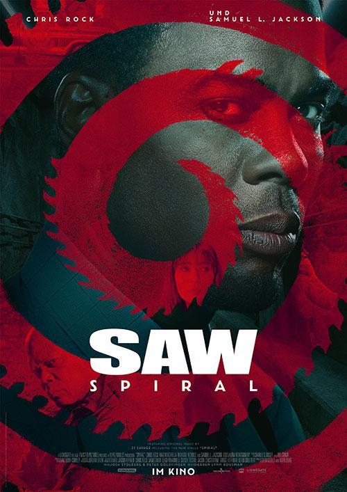 Saw Spiral Film 2021 KIno Plakat