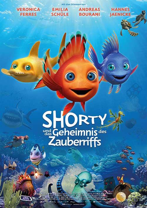 Shorty und das Geheimnis des Zauberriffs Film 2021 Kinostart Kino Plakat