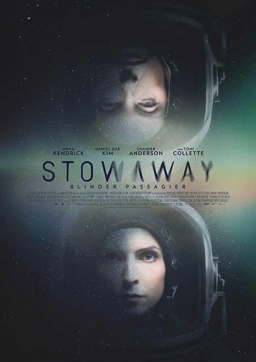 STOWAWAY - Blinder Passagier Film 2021 Kino Plakat