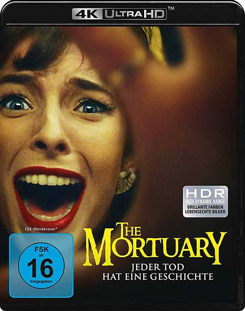 The Mortuary (4K Ultra HD) [Blu-ray] Cover shop kaufen