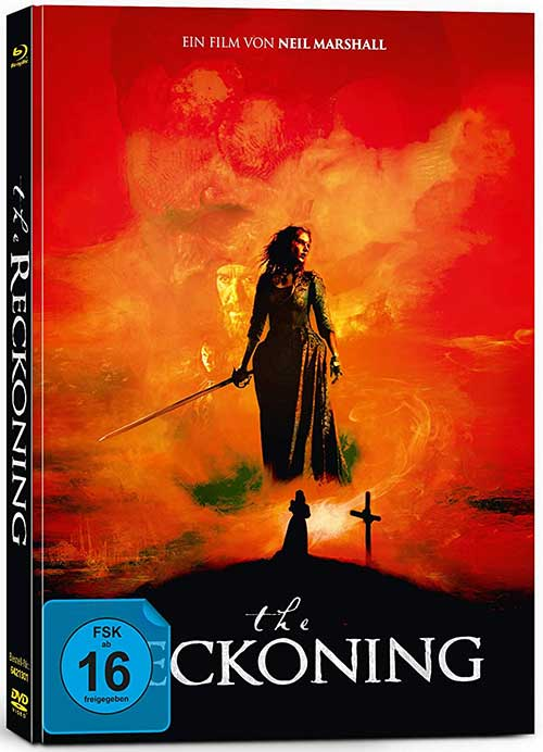 The Reckoning - Limited Collector's Edition im Mediabook (+ DVD) [Blu-ray] Film 2021 Cover shop kaufen