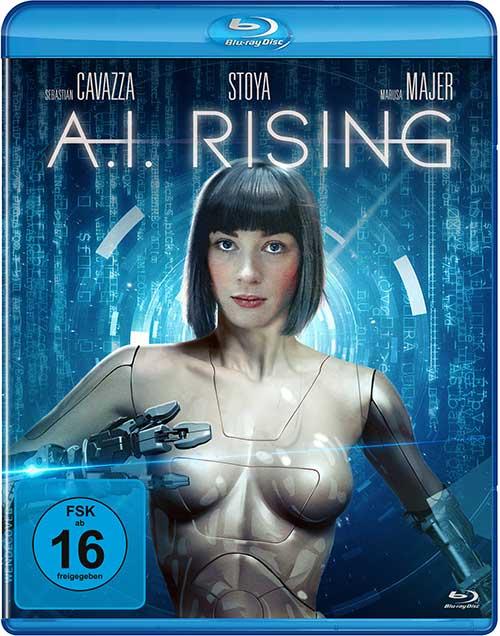 A.I. Rising Film Blu-ray DVD digital shop Cover