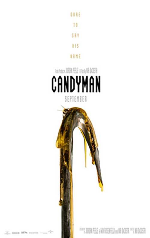 Candyman Film 2021 Kino Plakat
