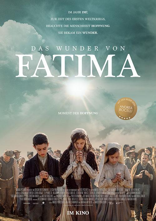 Das Wunder von Fatima - Moment der Hoffnung Film 2021 Kino Plakat