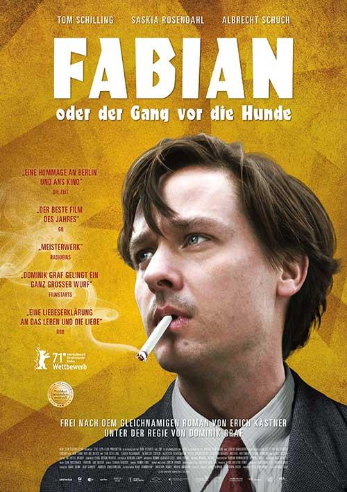 FABIAN oder DER GANG VOR DIE HUNDE Kino Plakat Film 2021