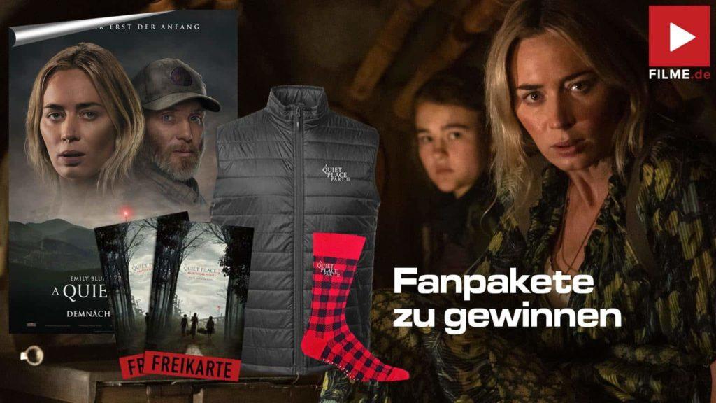 A Quiet Place 2 Film 2021 Fanpakete gewinnen Gewinnspiel Artikelbild
