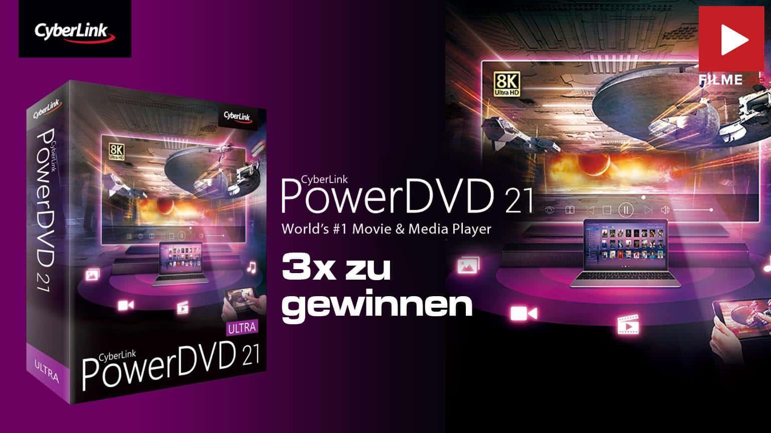 PowerDVD 21 Ultra Box Software Gewinnspiel gewinnen Shop kaufen Artikelbild