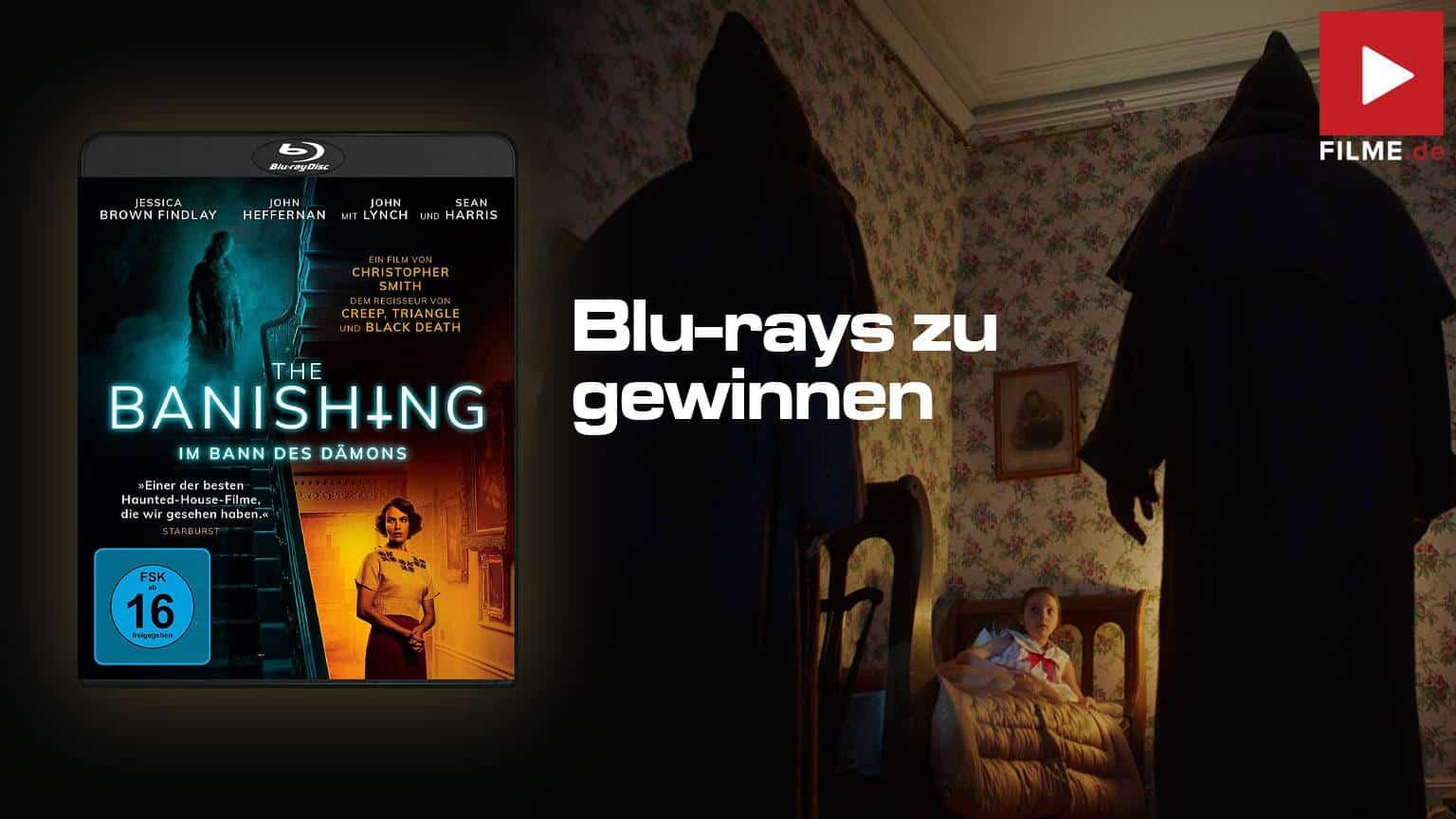 The Banishing - Im Bann des Dämons Gewinnspiel gewinnen Blu-ray Film 2021 Artikelbild
