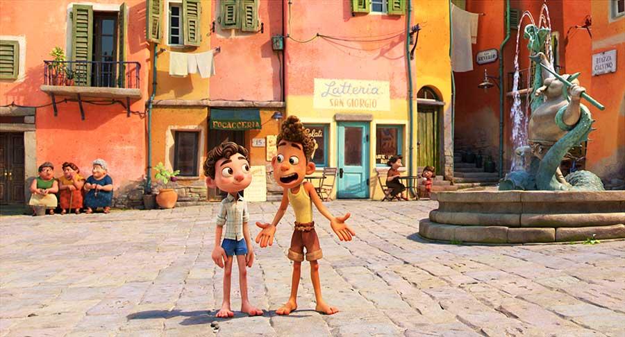 Luca Disney Pixar Film Streaming Review Szenenbild