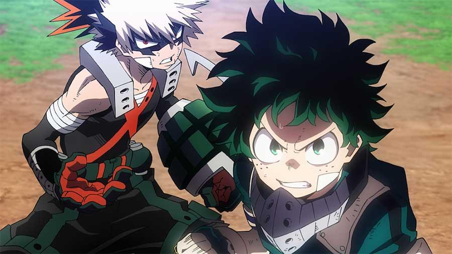 My Hero Academia: Heroes Rising KAZÉ ANIME NIGHT 2021 Kino Streaming Review szenenbild