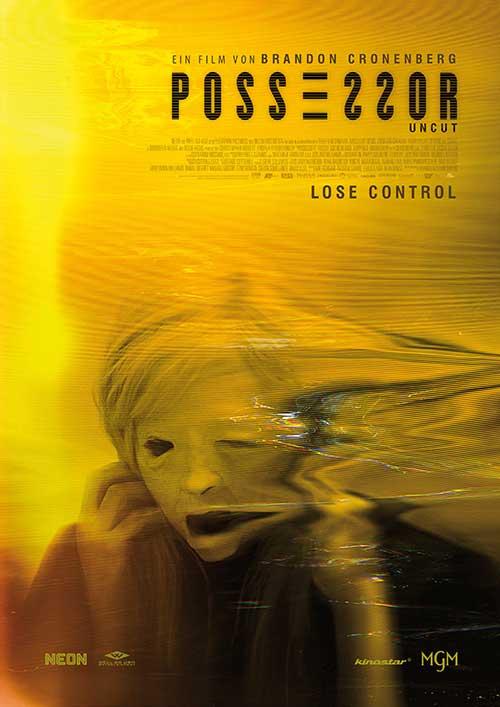 Possessor Film 2021 Kino star Plakat