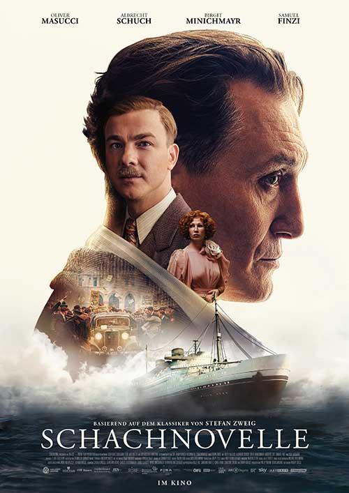 SCHACHNOVELLE Film 2021 Kino Plakat