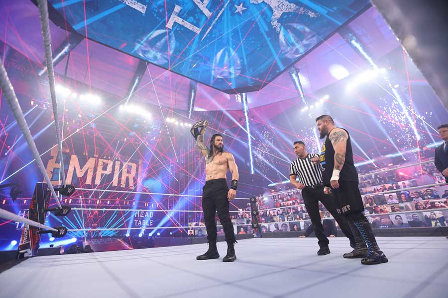 WWE Royal Rumble 2021 Blu-ray Review Szenenbild shop kaufen