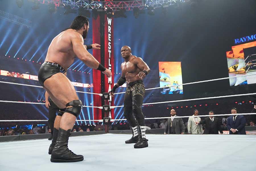 WWE Wrestlemania 37 – Bluray Review Film 2021 Shop kaufen Szenenbild