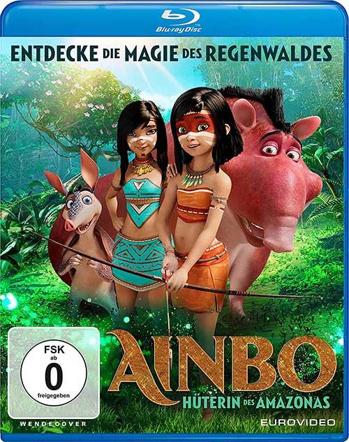 AINBO - HÜTERIN DES AMAZONAS Film 2021 Animation Blu-ray Cover shop kaufen