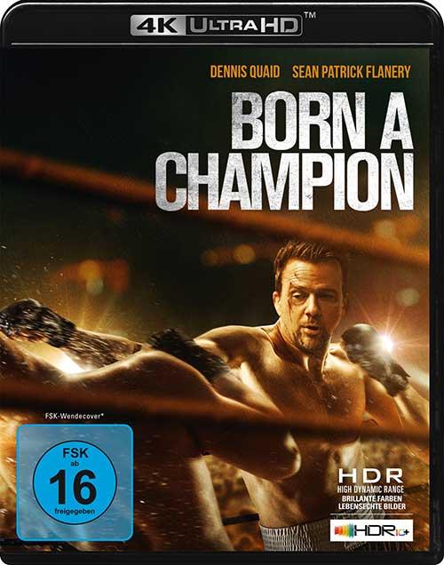 Born a Champion Film 2021 Blu-ray DVD 4K UHD Cover shop kaufen