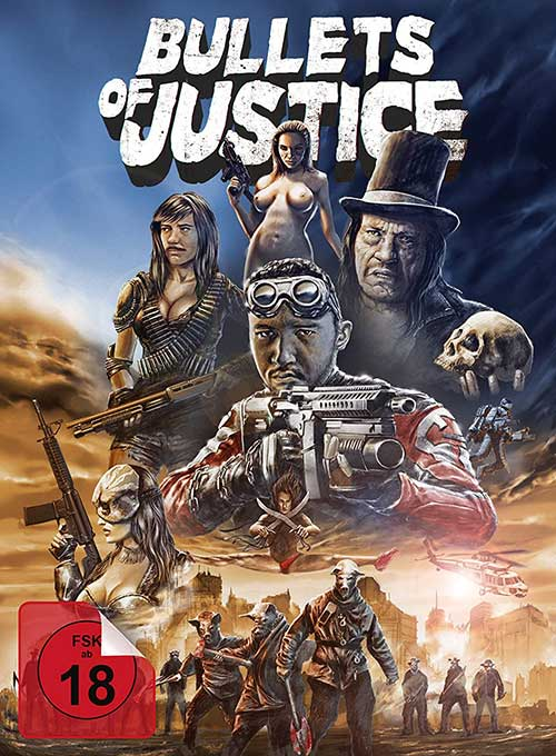 Bullets for Justice Film 2021 Collectors Edition shop kaufen Cover