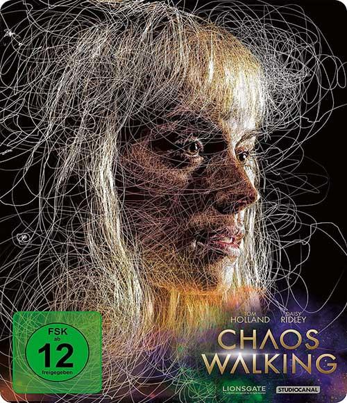 CHAOS WALKING Film 2021 4K UHD Steelbook Shop kaufen Cover