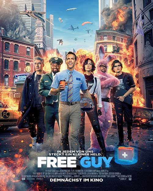 FREE GUY Film 2021 Kino Plakat